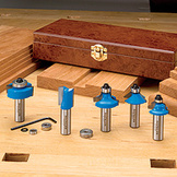5 piece router bit set